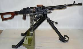 Light machine gun Kalashnikov 7.62mm